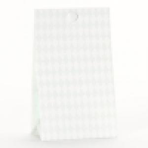 Snoepzakwikkel - Vichy groen wit - Laatste set van 10 stuks