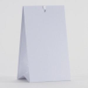 Snoepzakwikkel - Wit - Per vel van 2 stuks