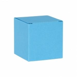Kubusje - Azuurblauw - Set van 5 stuks