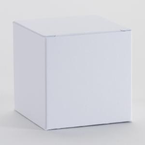 Kubusje - Wit - Set van 5 stuks