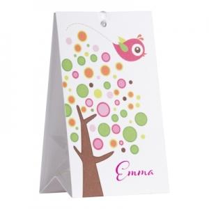 Snoepzakwikkel - Roze boom - per vel van 2