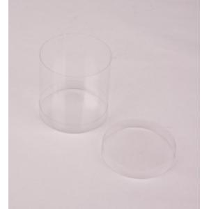 Transparant doosje - Cilinder Hoog - set van 10