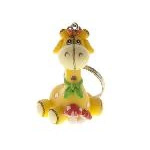 Sleutelhanger - Lief girafje - set van 5